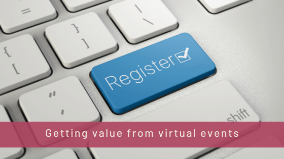 Getting value from virtual events
